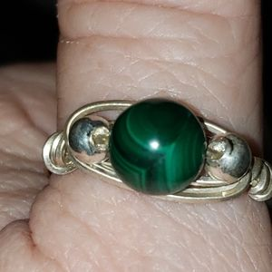 handmade silver wire wrap ring NWOT